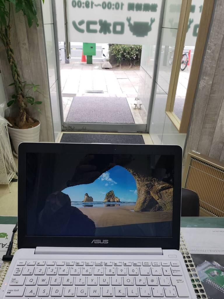 お預かりしているノートパソコン修理依頼主様:大阪市北区 N様 持ち込み修理 障害内容:接触不良修理事例1